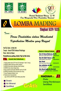 Browsur Mading (Lomba)